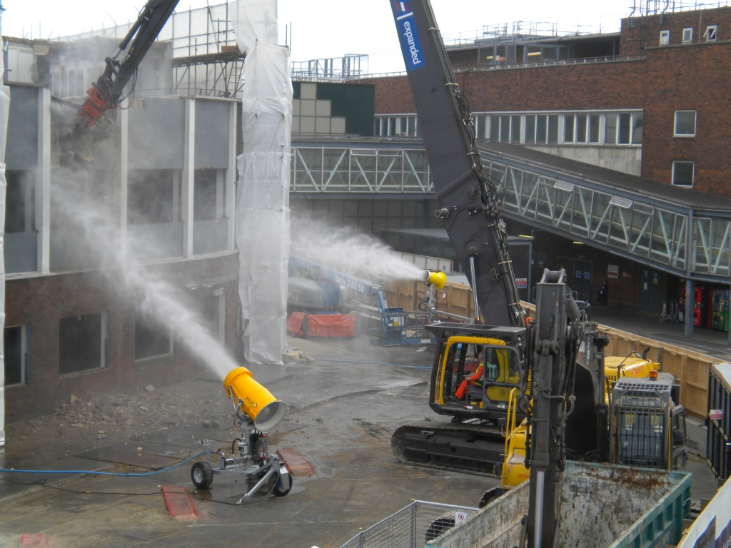 Gallery Dust Suppression At Demolition Sites
