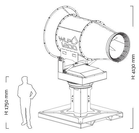 WLP1200-height