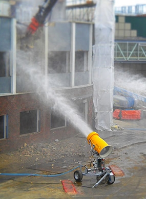 <p> Dust Suppression at <strong>Demolition sites</strong></p>