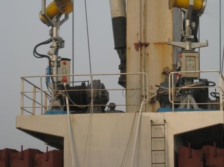 abbattimento polveri navi
