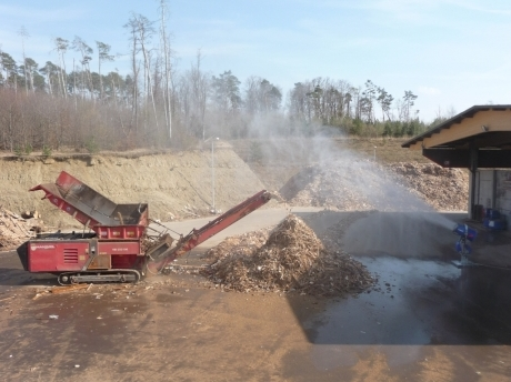 dust suppression waste handling