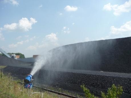 dust suppression in coal fields