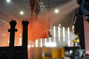 <p> Dust suppression in <strong>Steel Mill</strong></p>