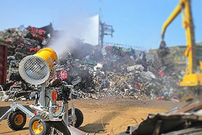 <p> Dust and odour suppression in <strong>Waste Recycling</strong></p>